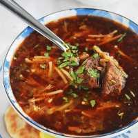 Chorba vermicelles (soupe algérienne)