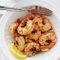 Crevettes à l'ail et citron, recette rapide (15 mn)