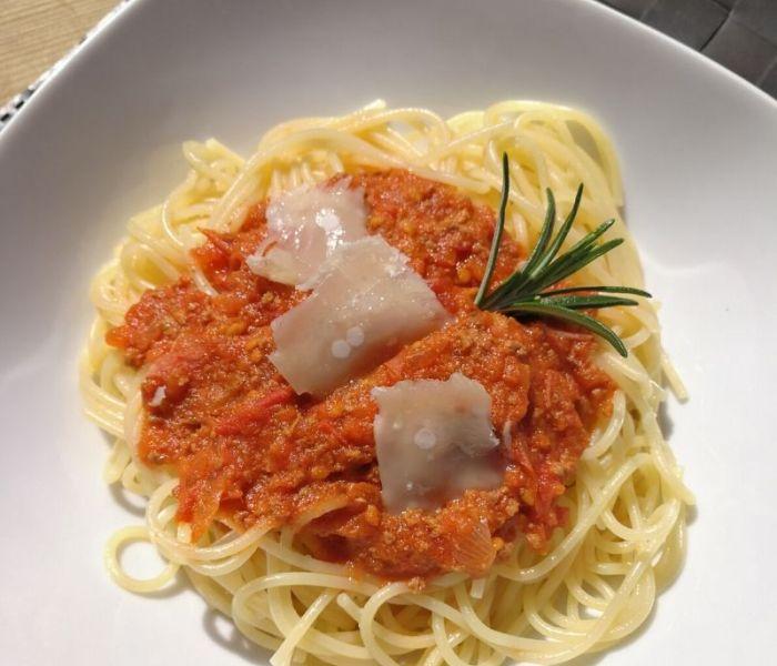 La sauce bolognaise à goûter absolument !