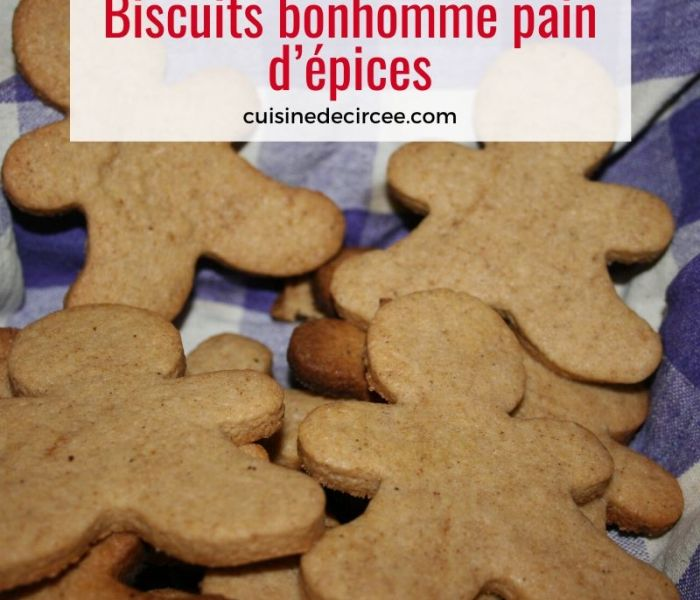Biscuits bonhomme pain d'épices