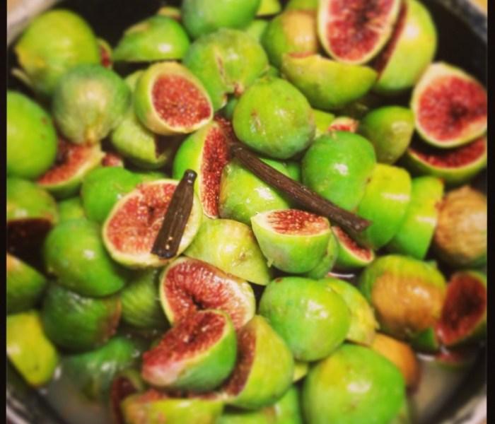 Confitures de figues
