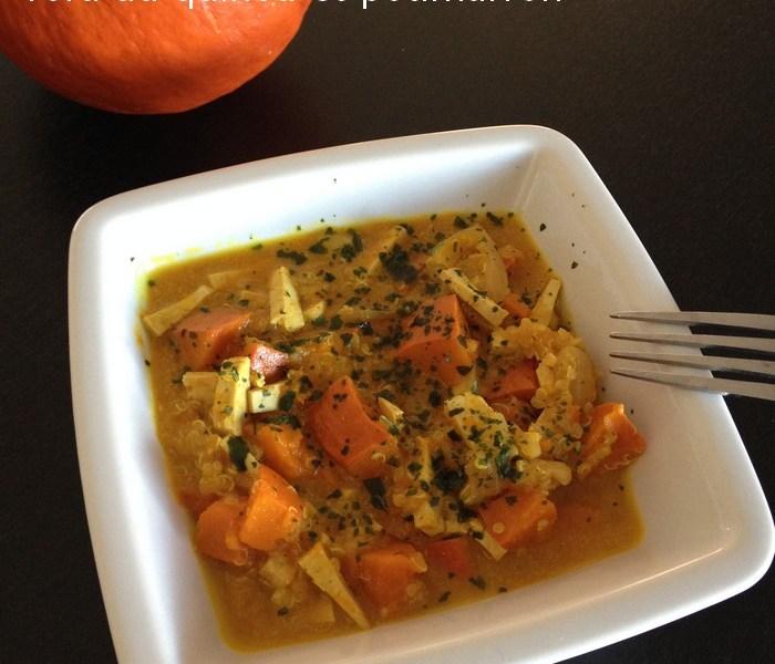 [Recette Cookeo] : Tofu au quinoa et potimarron