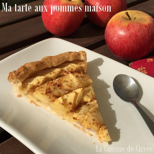 Ma tarte aux pommes maison