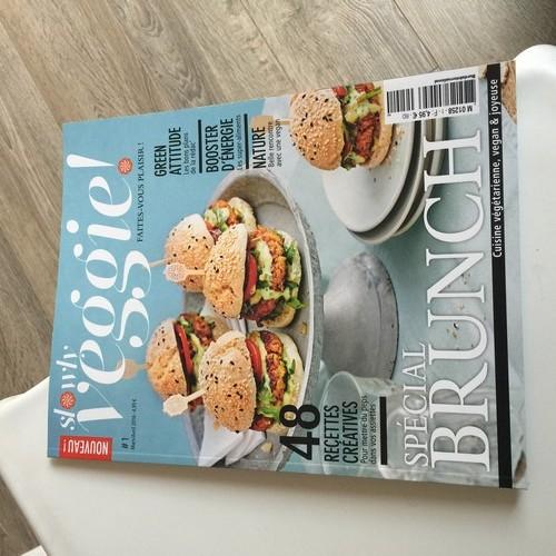 Slowly Veggie, nouveau magazine culinaire hyper tendance