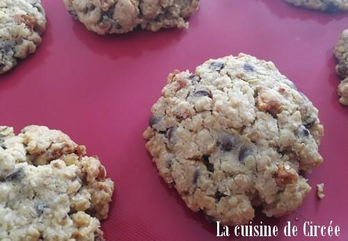 Cookies poire chocolat, on est paré pour le goûter