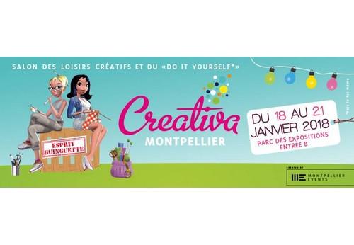 Je serai à Créativa 2018 Montpellier et toi ?