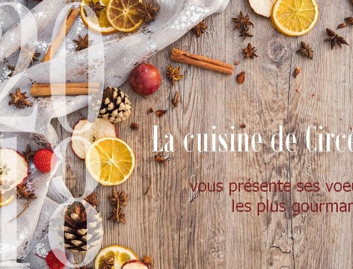 Bonne année 2018 sur La Cuisine de Circée