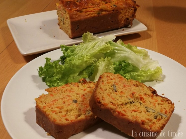 Cake 100 % courge au Cooking Chef Gourmet