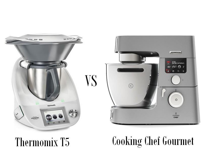 Match thermomix contre cooking chef gourmet la cuisine - Ecole de cuisine thermomix ...