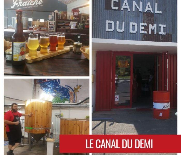 Le Canal du Demi by La Gorge Fraîche