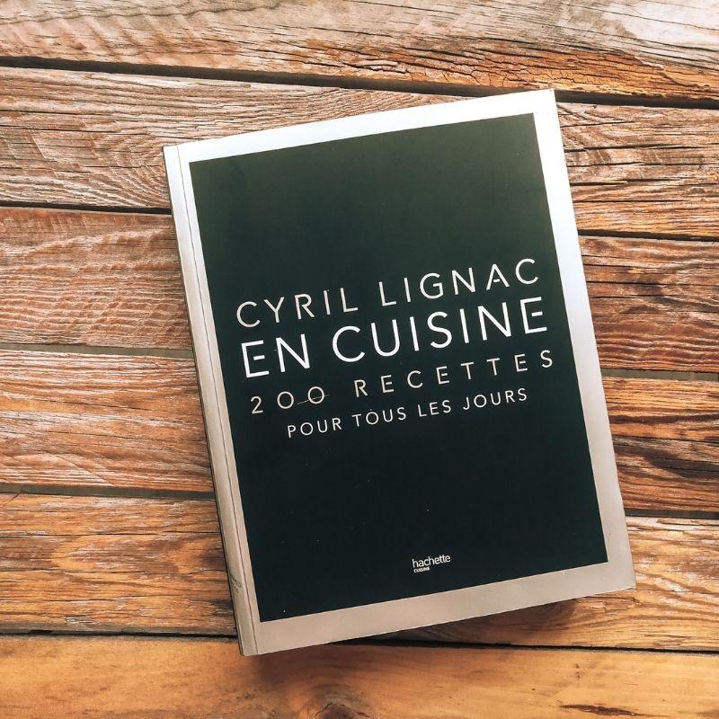 Livre Cyril Lignac en cuisine 200 recettes pour tous les jours