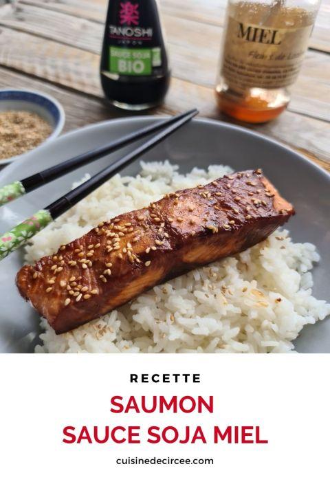 saumon sauce soja miel