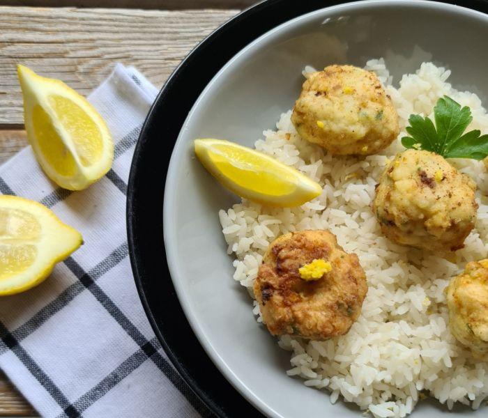 Boulettes de poisson citron gingembre