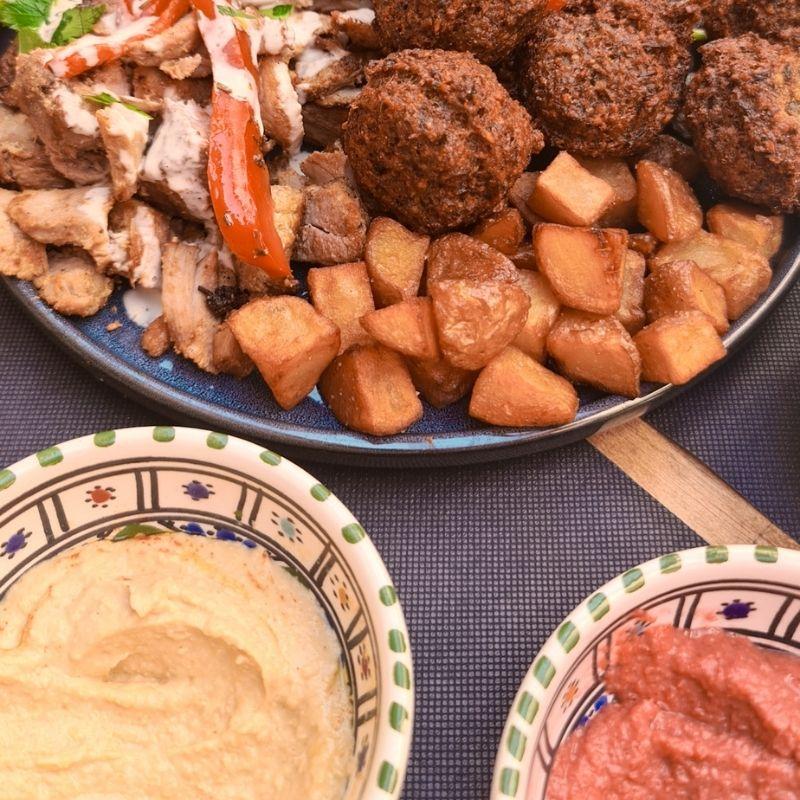 Oudi's falafel pour manger libanais à Mauguio