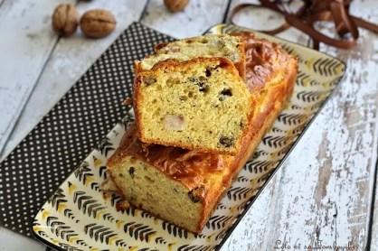 Cake au roquefort & lardons (5)