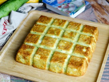 Cake courgettes & feta (3)