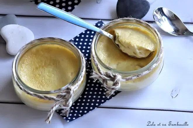 pot de crème à la vanille de lolo et sa Tambouille