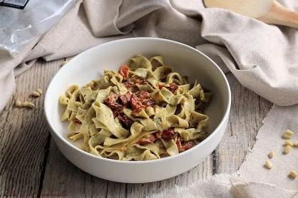 Pâtes aux tomates séchées & coppa (2)