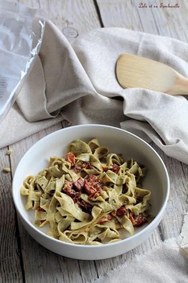 Pâtes aux tomates séchées & coppa (4)