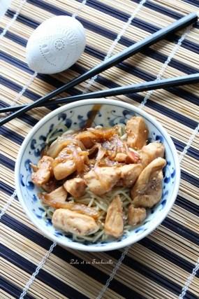 Emincés de poulet au miel & cannelle (1)
