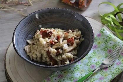 Risotto aux tomates séchées & poulet (5)