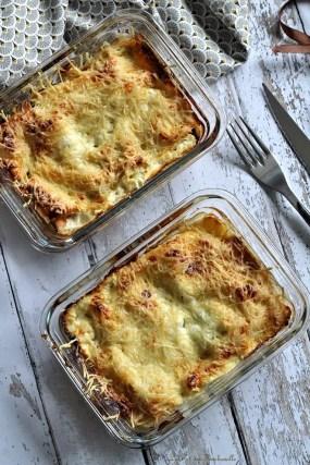 Lasagnes aux épinards, saumon & chèvre (3)