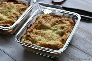 Lasagnes aux épinards, saumon & chèvre (5)