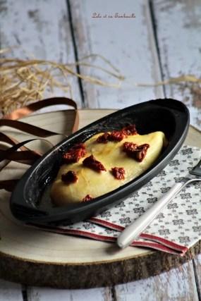 Papillote de poulet moutarde au miel & tomates séchées (2)
