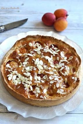 Tarte frangipane aux abricots (2)