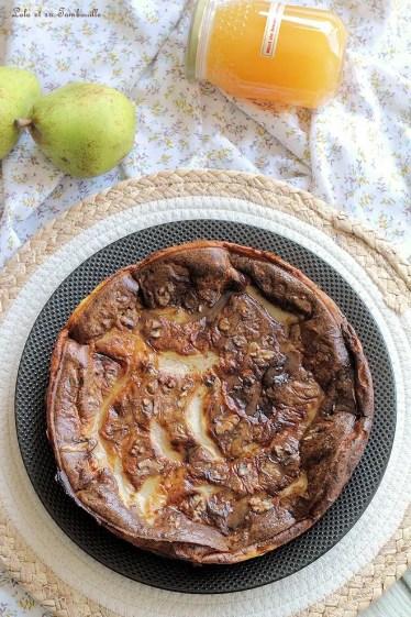 Clafoutis poires & roquefort (3)