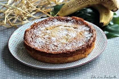 Gâteau à la banane & poudre d'amandes (2)
