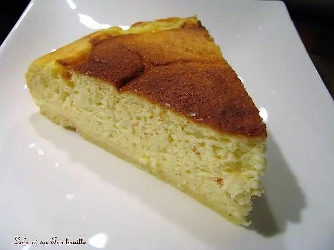 Tarte au fromage blanc de belle maman