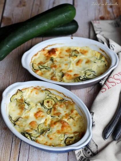 Gratin de courgettes & mozzarella (3)