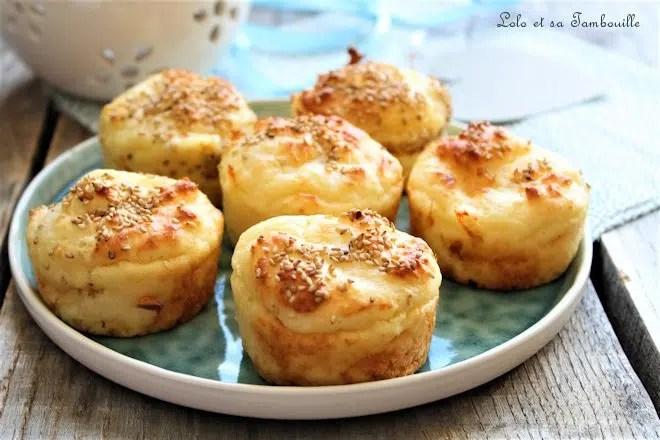 Bouchées au parmesan, mozzarella