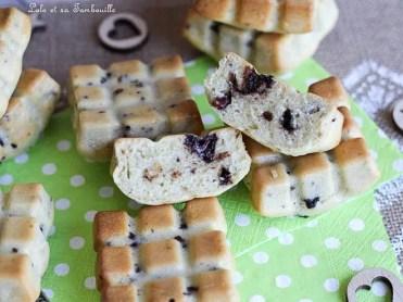 Gâteaux légers aux éclats de chocolat (1)