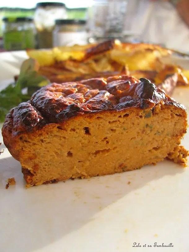 Gâteaux aériens au thon tomaté