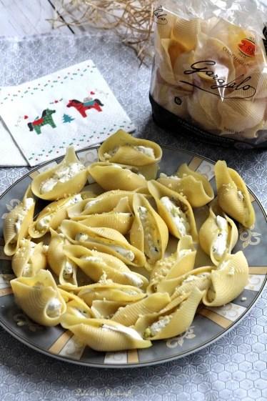 Conchiglioni au fromage frais & pignons (4)