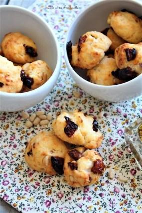 Cookies aux tomates séchées