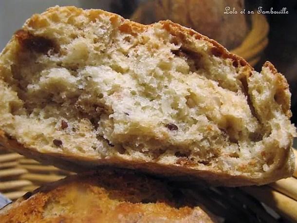 Petits pains aux figues & aux céréales