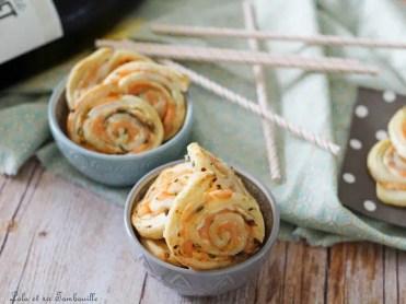 Roulés au saumon & fromage frais (2)
