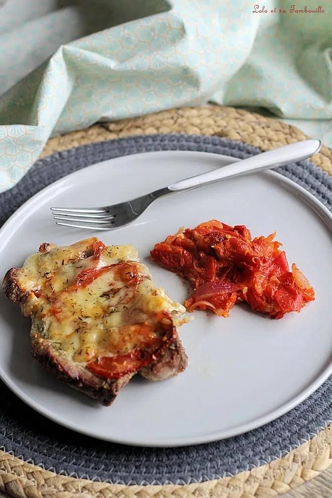 Côtes de porc à la sicilienne