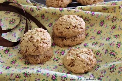 Cookies aux pépites de nougatine (2)