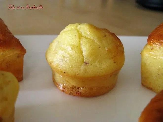 Mini cakes au gruyère