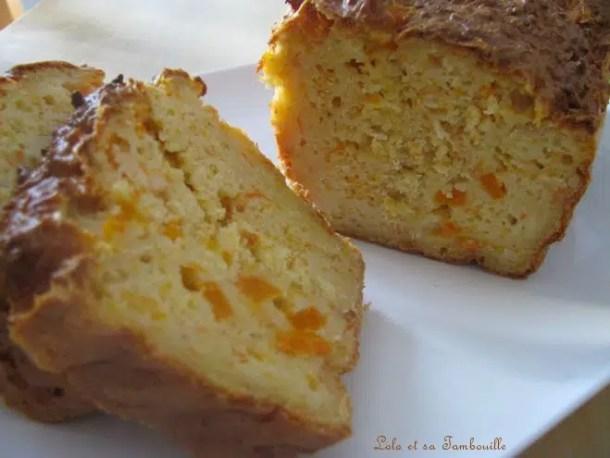 Cake aux carottes & surimi aux épices