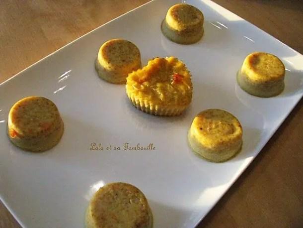 Flans au surimi & parmesan