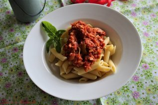 Sauce tomates au thon (6)