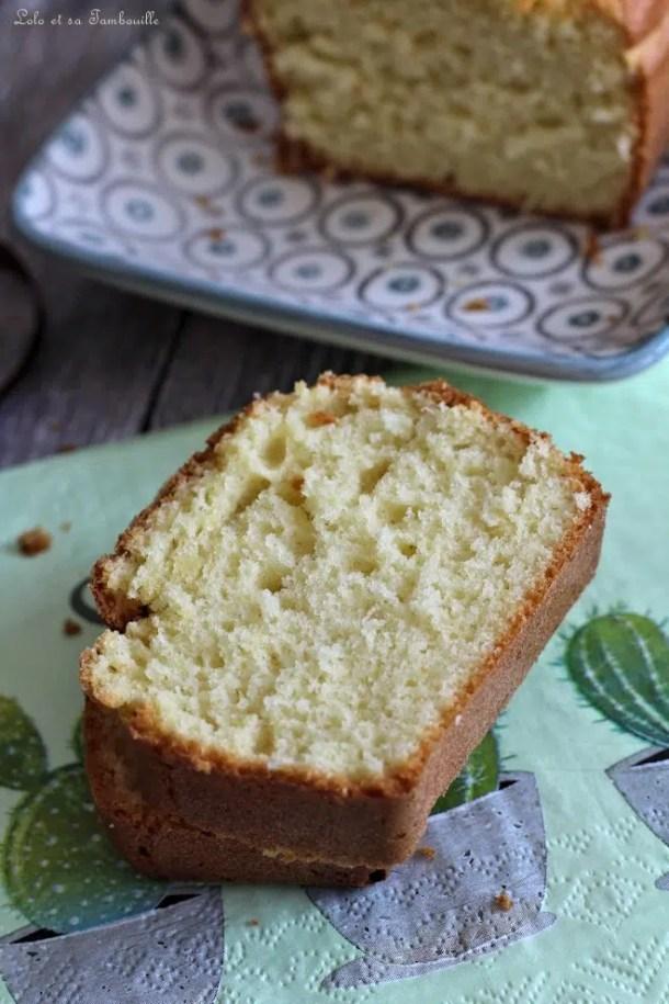 Cake au citron délicieux