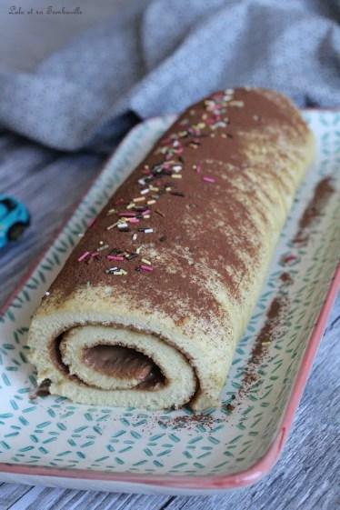 Roulé à la pâte à tartiner (4)