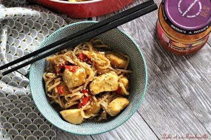 Sauté de poulet au chutney de mangue (4)