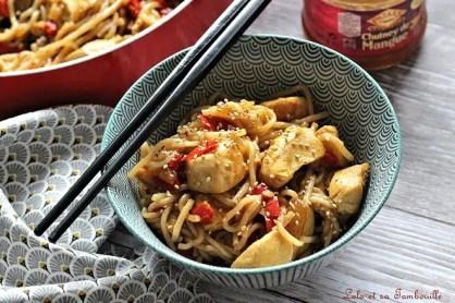 Sauté de poulet au chutney de mangue (6)